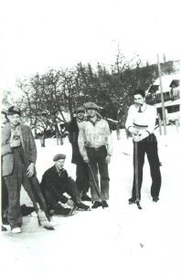 Hockey Game, circa 1930