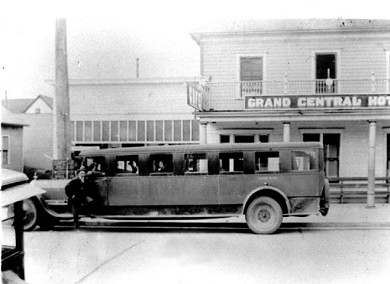 Grand Central Hotel and Stage