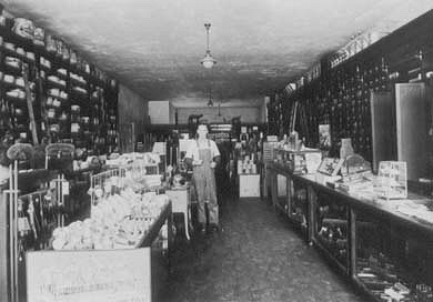 Interior of Lewis Hardware