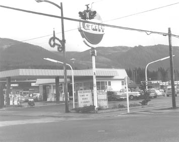 Front Street and Sunset Way 1971